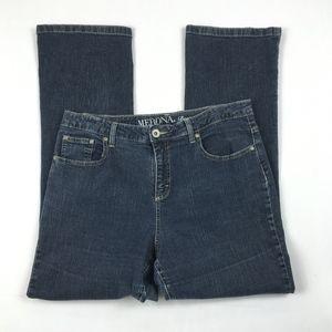 Merona Womens Bootcut Jeans Size 12S GUC